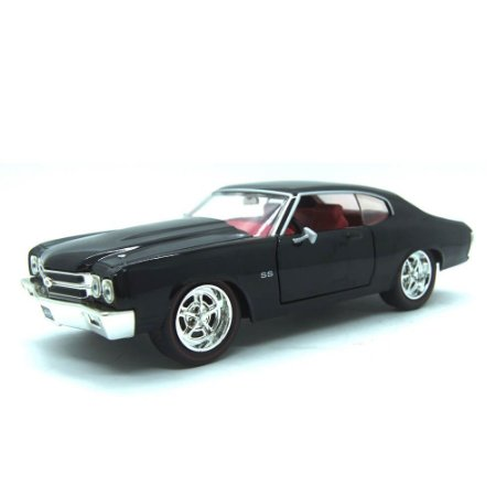 Chevrolet Chevelle SS 1970 Preto Big Time Muscle 1/24 Jada Toys