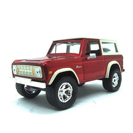 Ford Bronco 1973 Vermelho Just Trucks 1/24 Jada Toys
