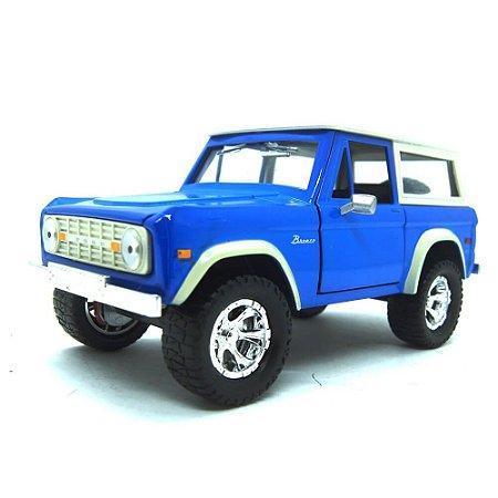 Ford Bronco 1973 Azul Just Trucks 1/24 Jada Toys