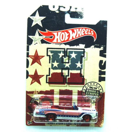 Pontiac GTO 1967 Stars & Stripes 1/64 Hot Wheels