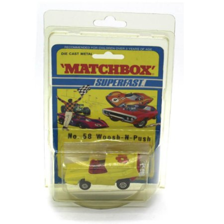 Woosh N Push Superfast N 58 1971 1/64 Matchbox