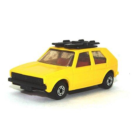 Volkswagen Golf Nº7 1/64 Matchbox Amarelo