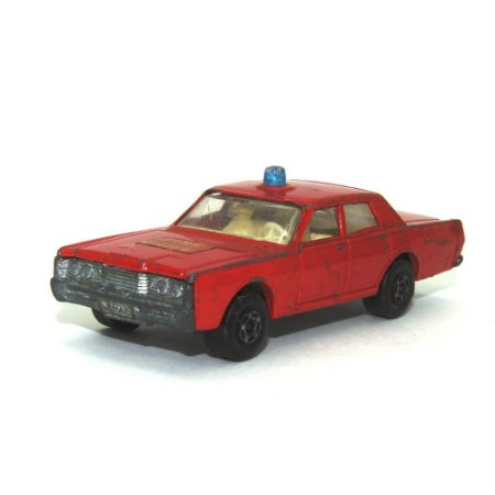 Mercury Fire Chief Nº59 1/64 Matchbox Anos 70