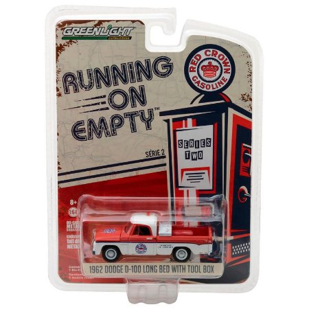 Dodge D-100 1962 Running On Empty Série 2 1/64 Greenlight