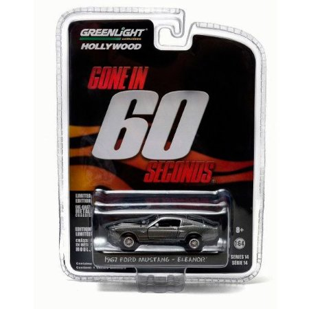 Ford Mustang Eleanor 60 segundos Hollywood Série 14 1/64 Greenlight