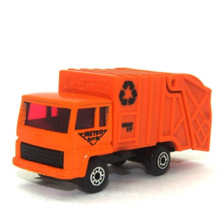 Refuse Truck Nº36 1/64 Matchbox Anos 70