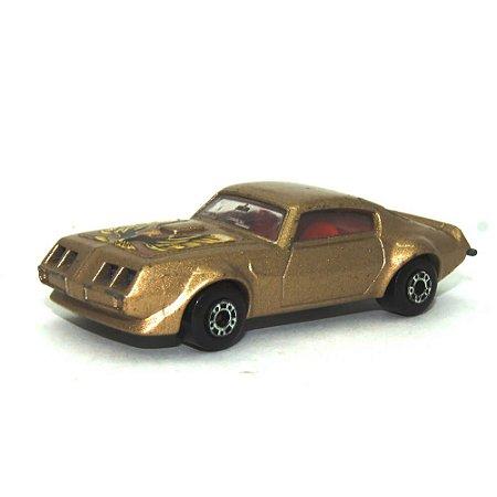 Pontiac Nº16 1/64 Matchbox Anos 70 marrom