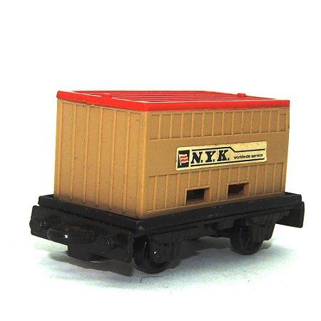 Flat Car/Container Nº25 1/64 Matchbox Anos 70