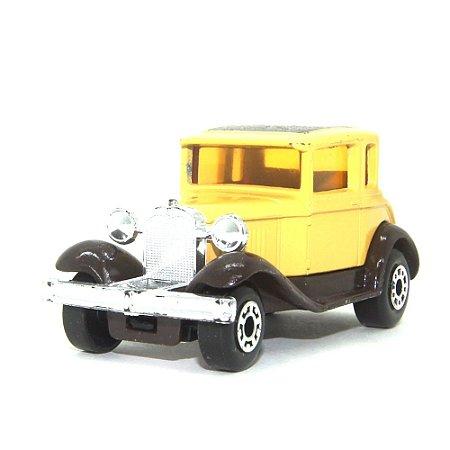 Model A Ford Nº73 1/64 Matchbox Anos 70 marrom+amarelo