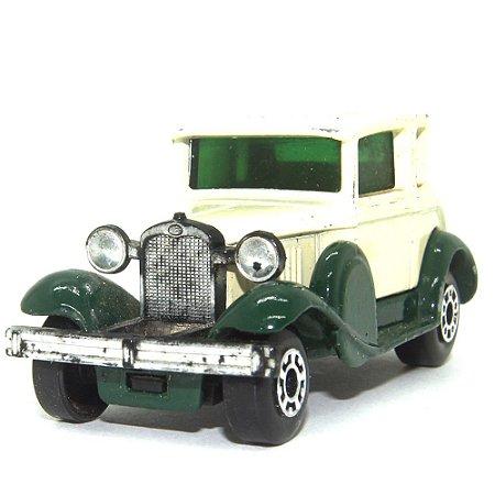 Model A Ford Nº73 1/64 Matchbox Anos 70 verde+branco