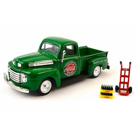 Ford Pickup 1948 Verde Coca Cola 1/43 Motorcity Classics