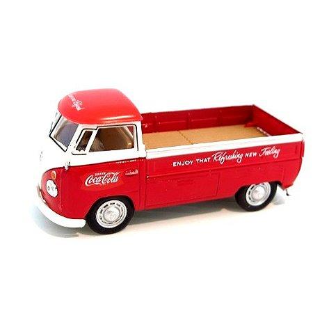 Volkswagen Kombi T1 Pick Up 1962 Coca Cola 1/43 Motorcity Classics
