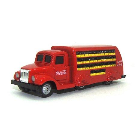 Caminhão de entrega de bebidas Coca-Cola 1937 1/87 Motorcity Classics
