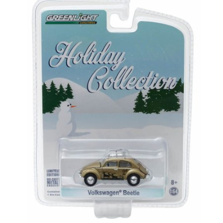 Volkswagen Fusca Holiday Collection 1/64 Greenlight