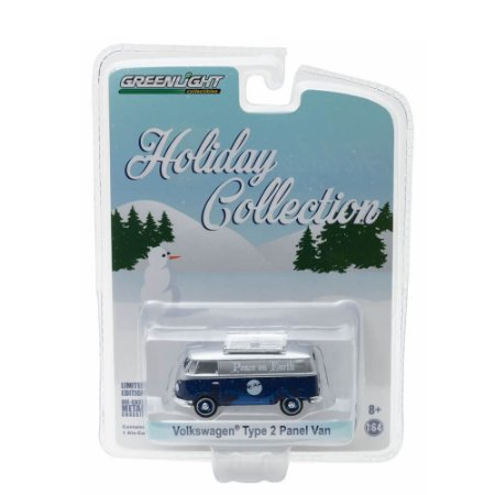 Volkswagen Kombi Type 2 Panel Van Holiday Collection 1/64 Greenlight