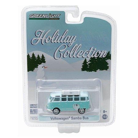 Volkswagen Kombi Samba Bus Holiday Collection 1/64 Greenlight
