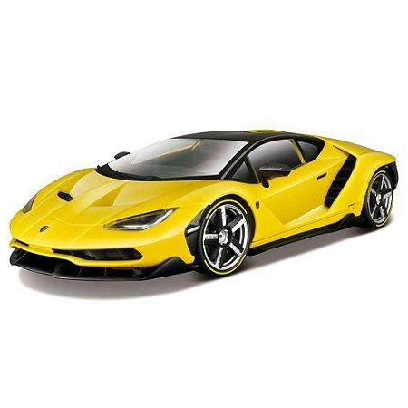 Lamborghini Centenario Amarela 1/18 Maisto Exclusive