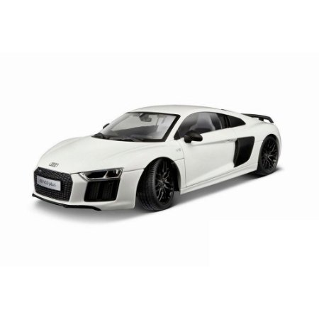 Audi R8 V10  Plus Branco 2015 1/18 Maisto Exclusive