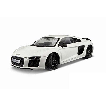 Audi R8 V10  Plus Branco 2015 1/18 Maisto Exclusive