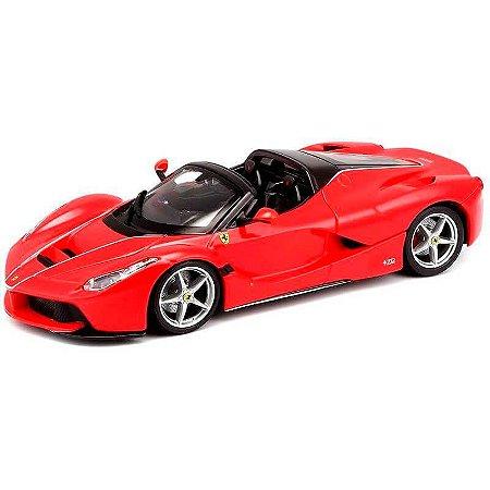 Ferrari Laferrari F70 2013 Aberta Vermelha 1/24 Bburago Race & Play