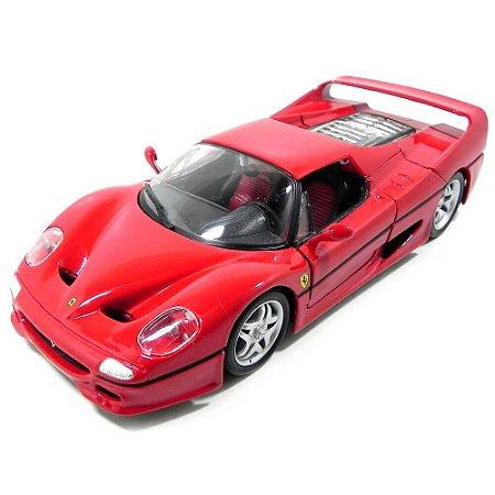 Ferrari F50 1995 Vermelha 1/24 Bburago Race & Play