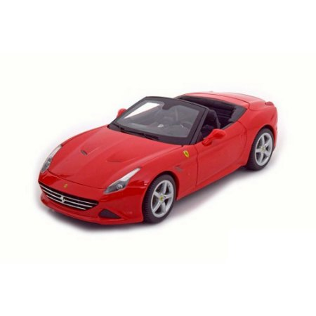 Ferrari California T Spider Open Roof 2014 Vermelha 1/18 BBurago Race & Play