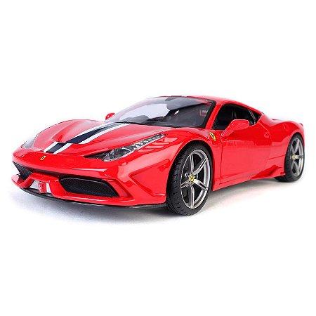 Ferrari 458 Italia Speciale 2013 Vermelha 1/18 BBurago Race & Play