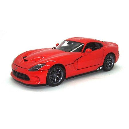 Dodge Viper Gts Srt Coupe 2013 Vermelho 1/18 Maisto Especial Edition