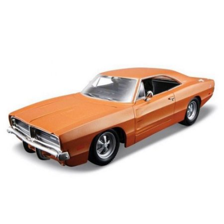 Kit para montar Dodge Charger R/T 1969 1/24 Maisto Assembly Line