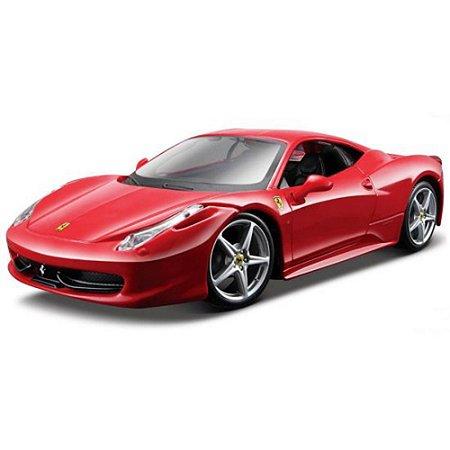 Kit para montar Ferrari 458 Italia 1/24 Maisto Assembly Line