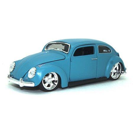 Volkswagen Fusca Azul 1/24 Maisto Design