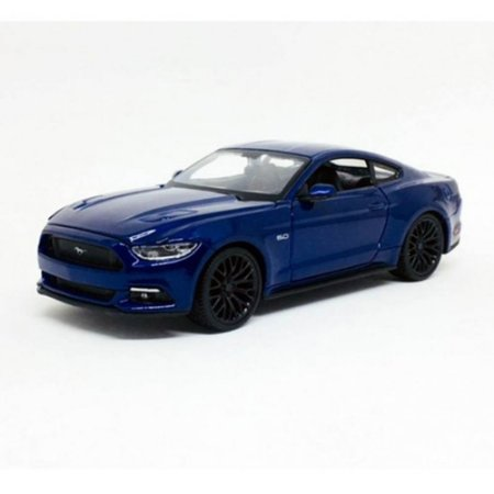 Ford Mustang GT 2015 Azul 1/24 Maisto Special Edition