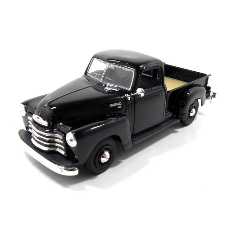 Chevrolet 3100 Pickup 1950 Preta 1/25 Maisto Special Edition