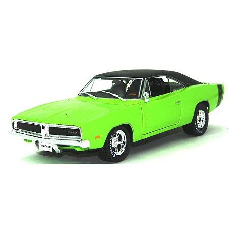 Dodge Charger R/T 1969 Verde 1/18 Maisto Design