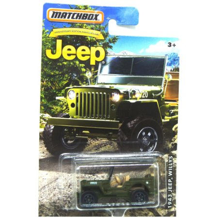 Jeep Willys 1943 1/64 Matchbox