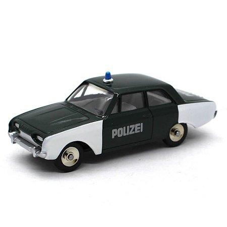Ford Taunus Polizei (Policia) 1/43 Dinky Toys