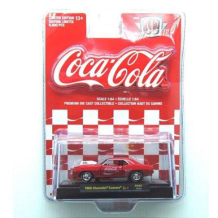 Chevrolet Camaro ZL-1 1969 Coca Cola 1/64 M2 Machines 52500 RC01