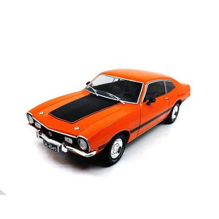 Ford Maverick GT 1974 Laranja 1/24 Califórnia Toys Classics