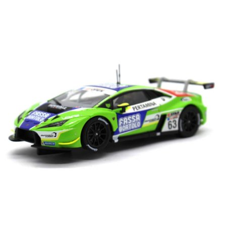Slot Car Lamborghini Huracan GT3 Imperiale Racing Team 63 1/32 Carrera Evolution