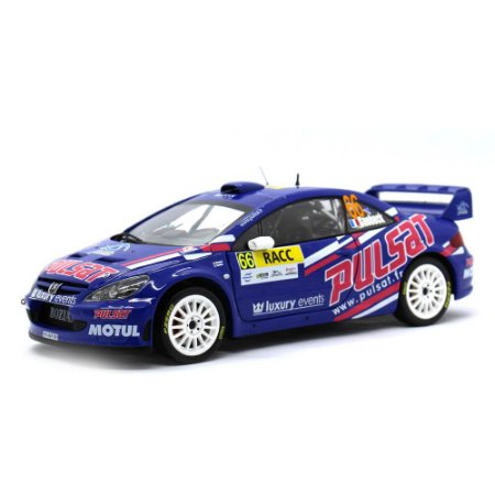 Peugeot 307 WRC RACC Rally Catalunya 2009 D.Snobeck e G.Mondesir 1/18 Sun Star Modern Rally Collectibles