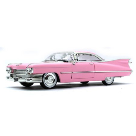 Cadillac Coupe De Ville 1959 Rosa 1/24 Jada Toys Big Time Kustoms