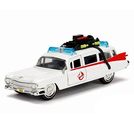 Cadillac Series 62 Ecto 1 Os Caça Fantasmas 1 1984 1/32 Jada Toys Hollywood Rides