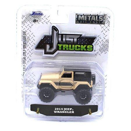 Jeep Wrangler 2014 1/64 Jada Toys Just Trucks Wave 17