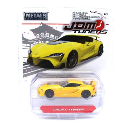 Toyota FT-1 Concept 1/64 Jada Toys JDM Tuners Wave 2