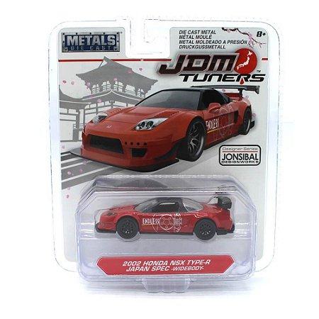 Honda NSX Type-R Japan SPEC Widebody 2002 1/64 Jada Toys JDM Tuners Wave 2