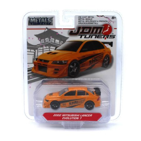 Mitsubishi Lancer Evolution 7 2002 1/64 Jada Toys JDM Tuners Wave 3