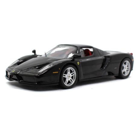 Enzo Ferrari Preta 1/43 Ixo Ferrari Collection