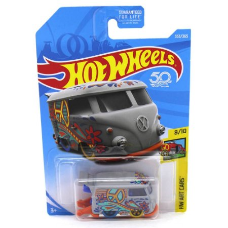 Volkswagen Kool Kombi 1/64 Hot Wheels 50 Anos HW Art Cars