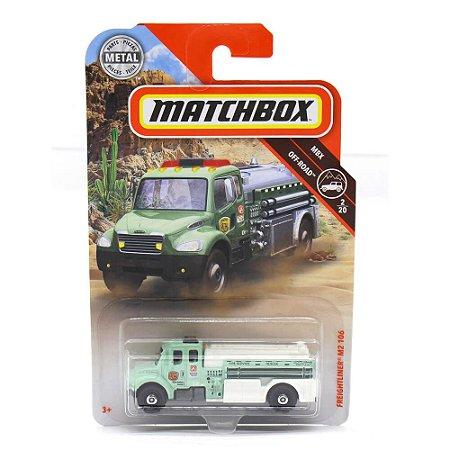 Caminhão Freightliner M2 106 1/64 Matchbox MBX Off Road