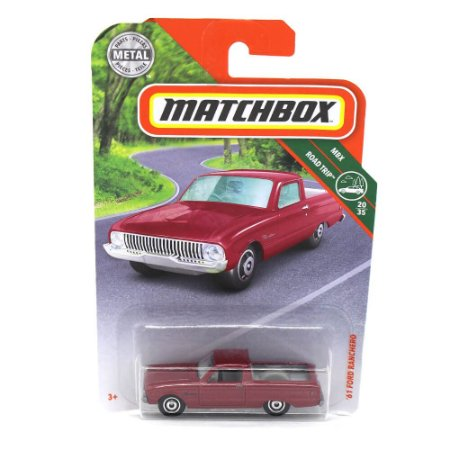 Ford Ranchero 1961 1/64 Matchbox MBX Road Trip